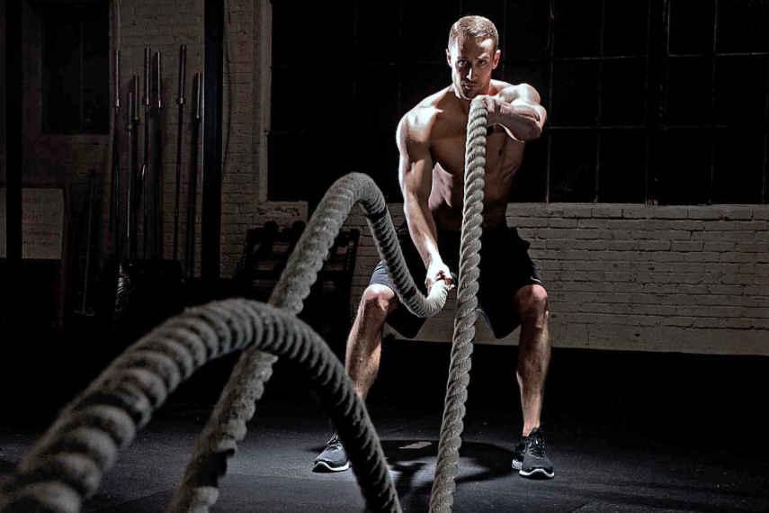 rutina de ejercicios, entrenamiento equilibrado