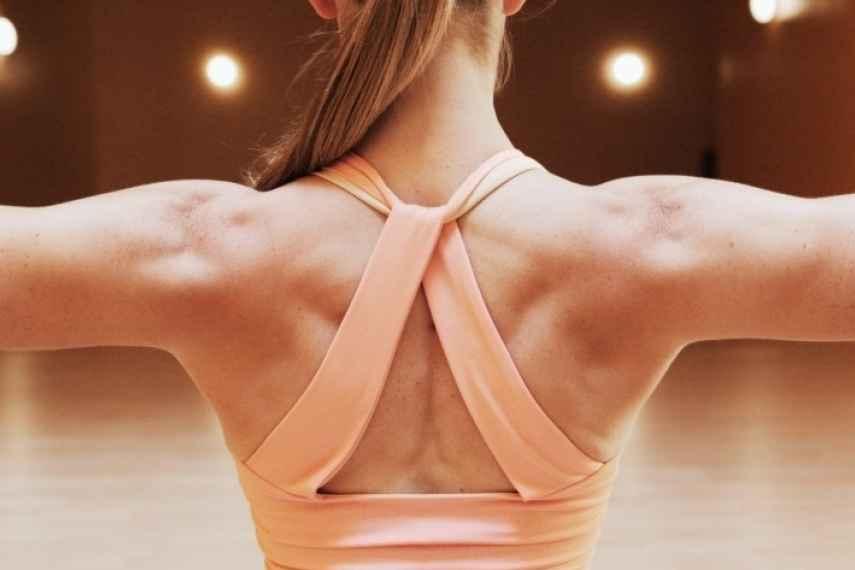 ejercicios HIIT, tonificar espalda