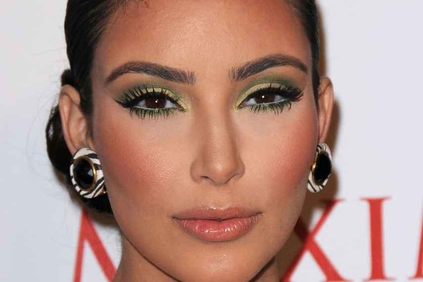 errores de maquillaje, 10 años más, kim kardashian