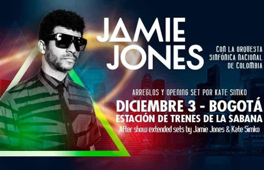 Jamie Jones, Orquesta Sinfónica Nacional de Colombia