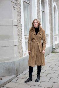 color camel, abrigo