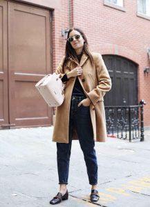 outfits noviembre, abrigo