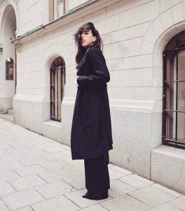 outfits noviembre, black