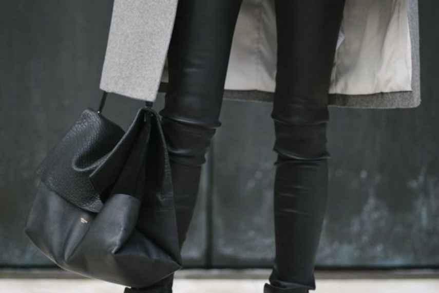 pantalones de cuero, outfits para invierno