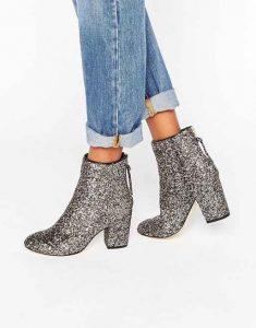 tendencias de zapatos, zapatos brillantes