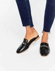 tendencias de zapatos, loafer mules