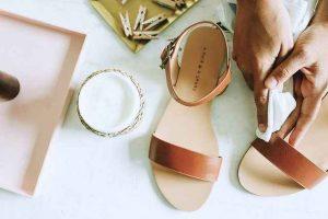 zapatos de cuero, bálsamo de cuero