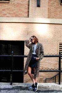 leopardo, abrigos estampados
