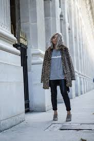 estampado leopardo, look de invierno
