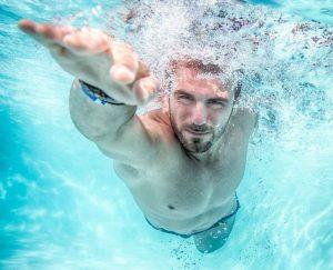 actividades vacaciones, nadar