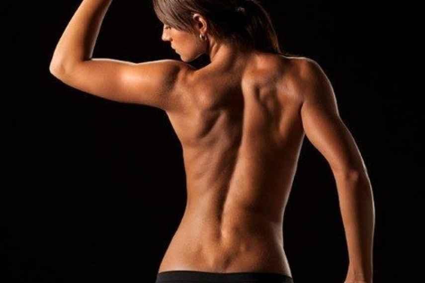 ejercicios para la espalda, adelgazar la espalda