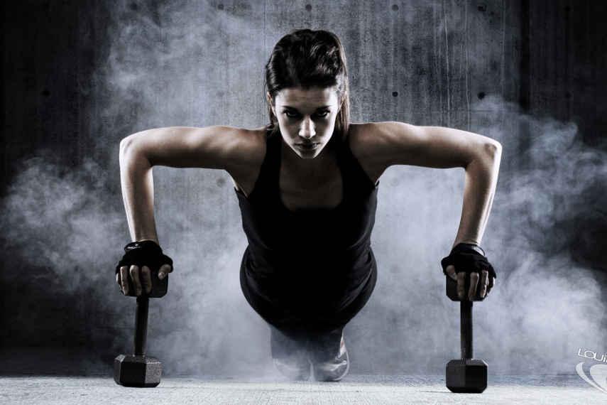 mancuernas, ejercicios con mancuernas
