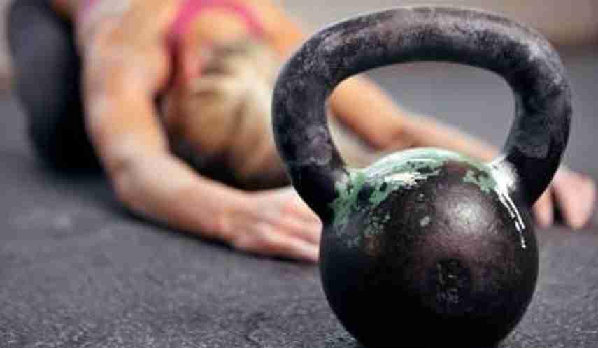 pesas rusas, ejercicios de fuerza