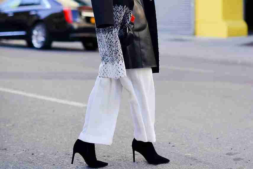 pantalones blancos, tendencias de moda