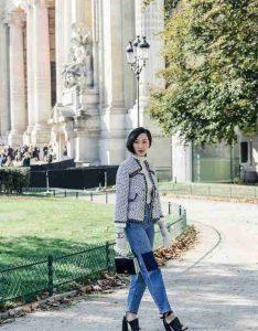Tweed Jacket, jeans