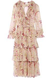vestidos elegantes, rosa