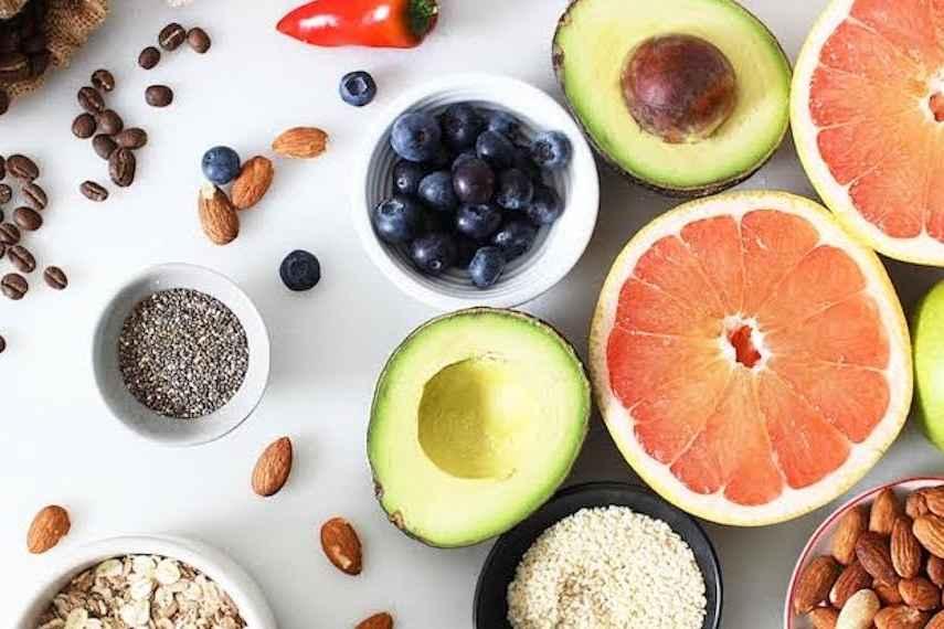 alimentos saludables, perder peso