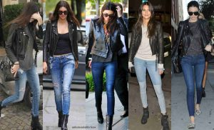 chaqueta de cuero, leather outfits