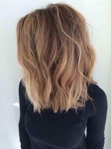 colores invierno, cabello ombré